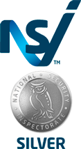 National Security Inspectorate silver logo